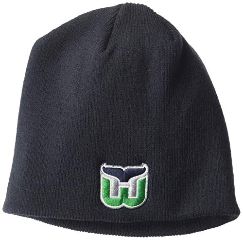 OTS NHL Hartford Whalers Youth Beanie Knit Cap, Vintage, Youth