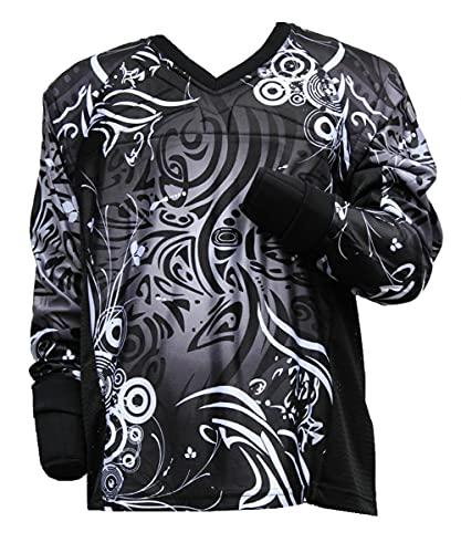 PBC Paintball Jersey Tribal schwarz Gotcha Shirt Bekleidung Magfed (L)