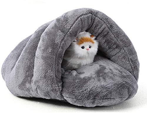 Cama para Mascotas para Gatos Perros Nido Suave Kennel Cama Casa Casa De La Cueva Bolsa De Dormir Mat Pad Pad Tent Mascotas Invierno Cálidas Y Acogedoras 2 Tamaño, B, 50 * 45 * 35 Cm