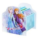 Frozen Disney Kids Sling Bookcase-Bedroom Book Storage by HelloHome, (H) x 39.5cm (W) x 35cm (D)