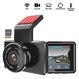 Dash Cam 1080P Full HD, 3 Inch Dashboard Camera Car Recorder, Include 16GB Micro SD Card, OBD Port 170°Wide Angle Dashcam Driving Loop Recording G-Sensor Night Vision Parking Monitor