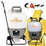 Petra Battery Powered Backpack Sprayer – 2.0AH Ultimate Battery Life Professional 4 Gallon Lithium Sprayer - Multipurpose HD Wand, Wide Mouth Lid, Multiple Nozzles & Battery and Charger Included