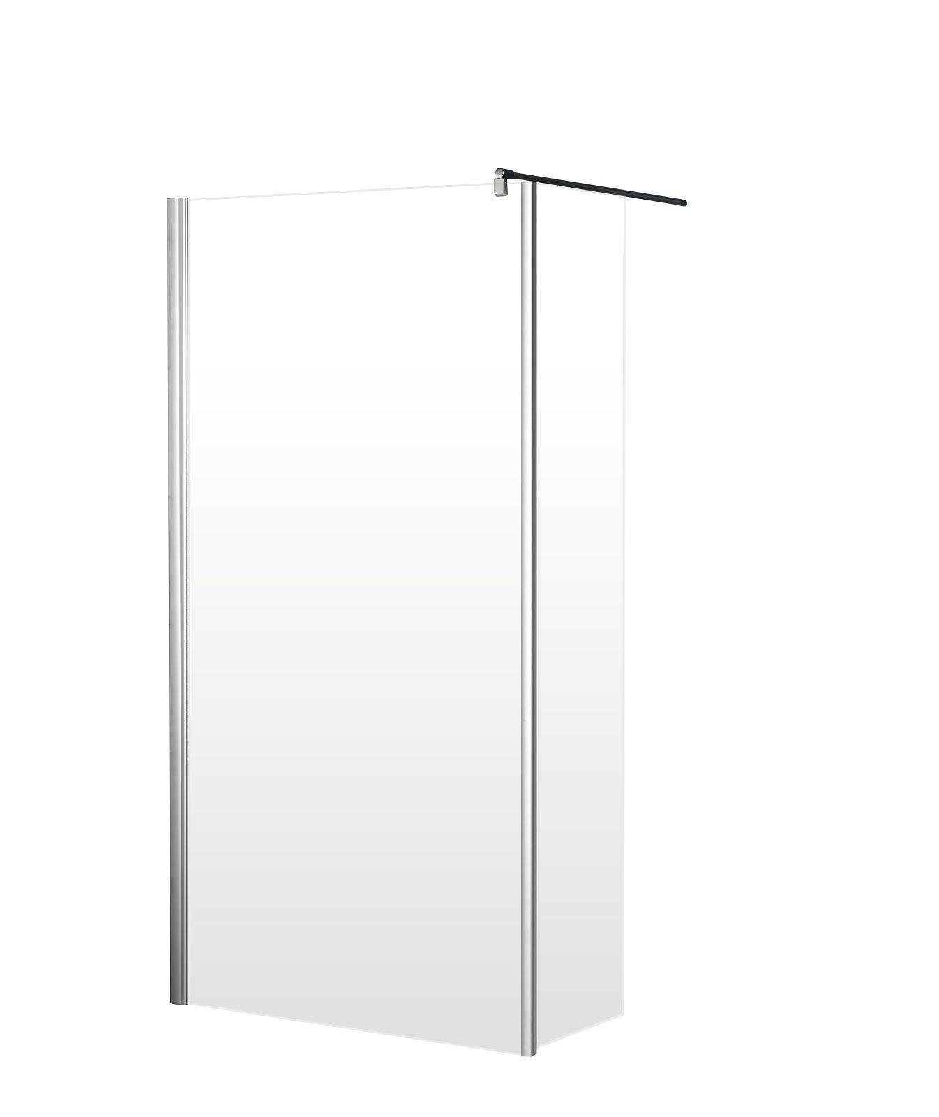 Schulte 4060991014512 mampara de ducha, transparente, 90 x 30 x ...