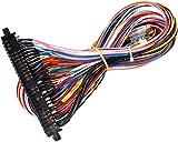EG STARTS Arcade JAMMA 56 Pin Interface Cabinet Wire Cablaggio Loom Multicade Arcade PCB Cable Arcade Machine Console per videogiochi Jamma 60-in-1 board & Pandora box 2 3 4 Game