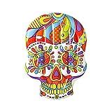 BESTWAY 43194 - Isla Hinchable Calavera Fiesta Skull 193x141 cm