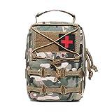 SYFO Medizinische Tasche Molle Tactical Erste-Hilfe-Kits zum Außen Auto Notfall Haus Jagd Camping...
