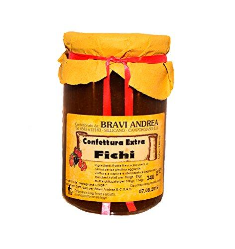 Confettura Extra di Fichi 340 g - Salumificio Artigianale Gombitelli - Toscana