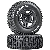 Lockup SC Tire C2 Mntd Blk Slash Blitz SCRT10 (2)