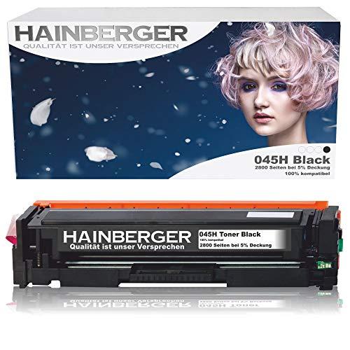 Hainberger Toner Black Kompatibel zu Canon 045 045H CRG-045H CRG-045 045HBK für Canon i-sensys MF635cx MF633cdw MF634cdw MF631cn MF632Cdw MF636Cdwt MF631 MF635 MF634 LBP613cdw LBP612cdw LBP611cn