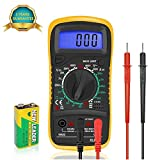 Digital Multimeters Car Battery Circuit Multi Tester Voltmeter Ammeter...