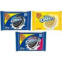 3-Pack Oreo Original, Double Stuf & Golden Cookies Variety Pack