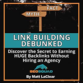 Link Building Debunked audiobook cover art