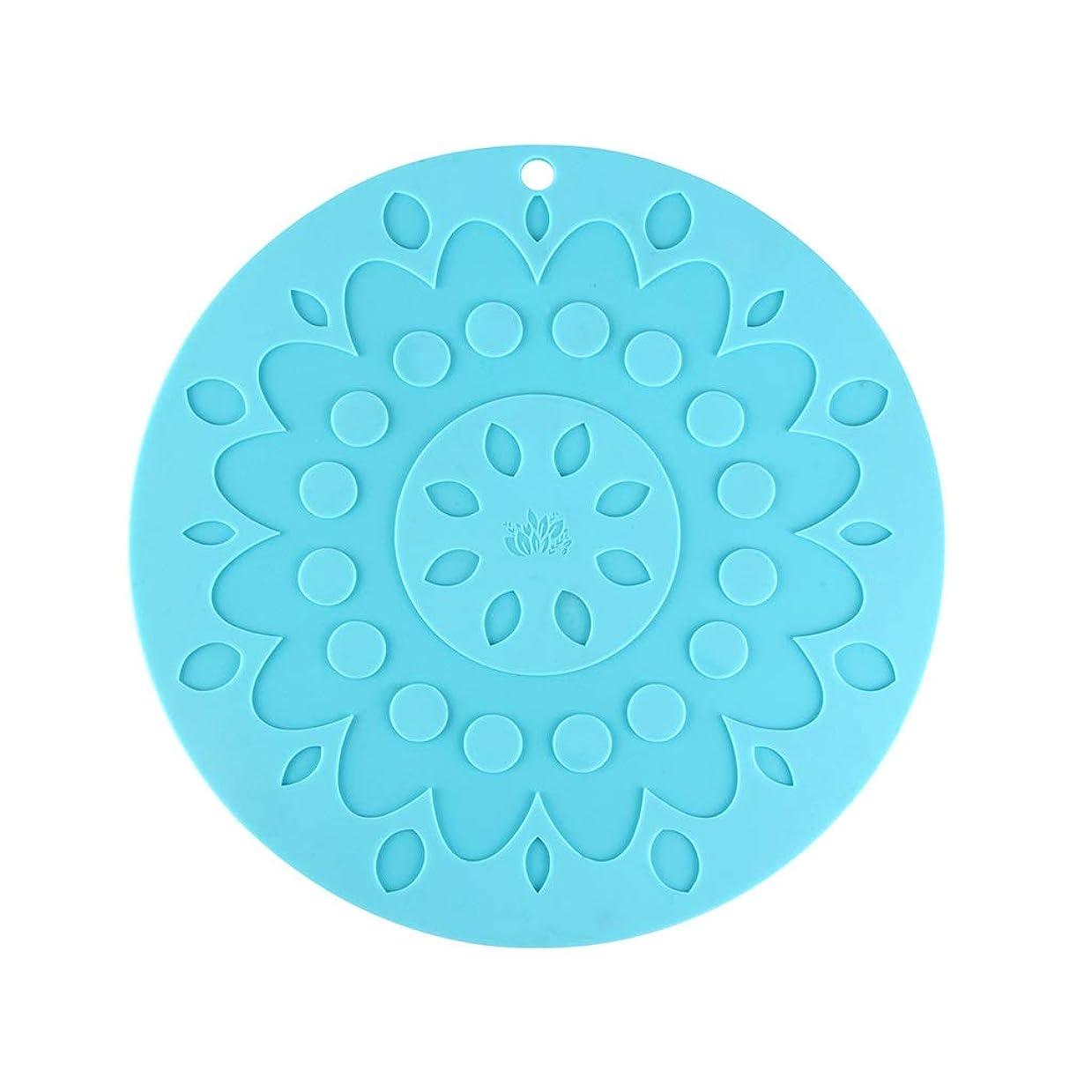 俳句口男XJLXX 断熱パッド、シリコンプレースマット、多目的マットを増やすための29cmの厚さ デスクトップ絶縁パッド (Color : D)