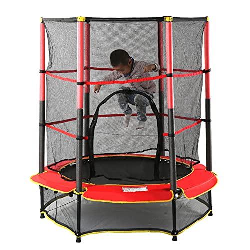 FYRMMD Pieghevole Fitness Workout Rebounder Trampolino Mini Sports Trampolim Mini Trampoline Fitness Rebounder Jumping per Adulti e Bambini