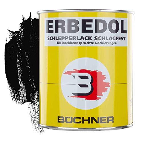 Schlepperlack | SCHWARZ GLÄNZEND | RAL 9005 | 0,75 l | restaurieren | Traktor | lackieren | Farbe | Trecker | Frontlader | Lack | Lackierung | Farbton | schnelltrocknend...