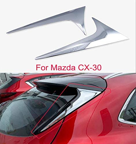 Momoap 2pcs ABS Chrome Car Rear Trim At the New product!! price Cover Em Tail Frame Strip