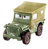 Retrouvez le véhicule sergent tout droit venu du monde de Cars pour compléter votre collection de véhicules Cars ! Le but étant d'avoir un maximum de véhicules à Collectionner et d'agrémenter la collection déjà existante ! Produit Disney Pixar