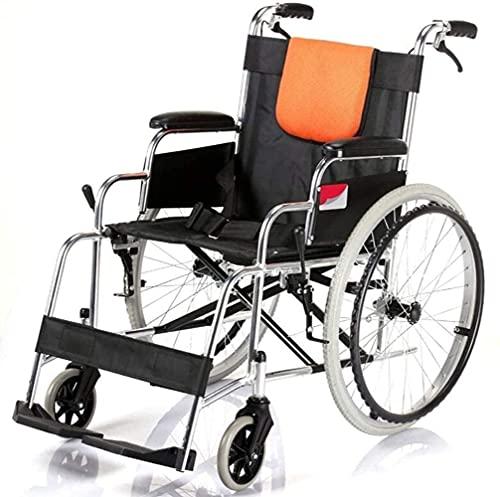 SXDYJ Portátil Multifuncional portátil for Silla de Ruedas, Tubo de Acero Completo Almacenamiento Plegable Reforzado Viaje Anciano Bandeja for sillas de Ruedas (Color : H062)