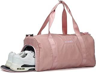 Gym bag for women, workout duffel bag shoe compartment,...