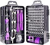 Destornilladores de precisión, 135 en 1 kit de herramienta de la reparación con la caja portátil, Conductor de herramientas magnético Juego for PC, ordenador, teléfono móvil, tableta, Iphone, Ipad, Ma