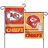 """NFL Kansas City Chiefs Garden Flag, 11"""" x 15"""""""