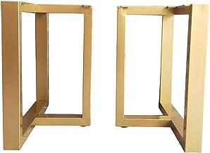 zwhw Diy Heavy Duty Smeedijzeren tafelpoten 2 sets, 50 * 45cm, kan 60kg dragen, geschikt voor industriële moderne meubelpo...