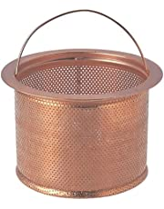 SANEI 排水口のゴミ受け 流し排水栓カゴ深型 銅製