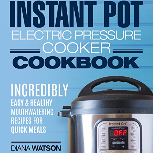 Instant Pot Electric Pressure Cookbook cover art