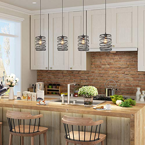 Modern Farmhouse Style Pendant Lighting for Kitchen Islands