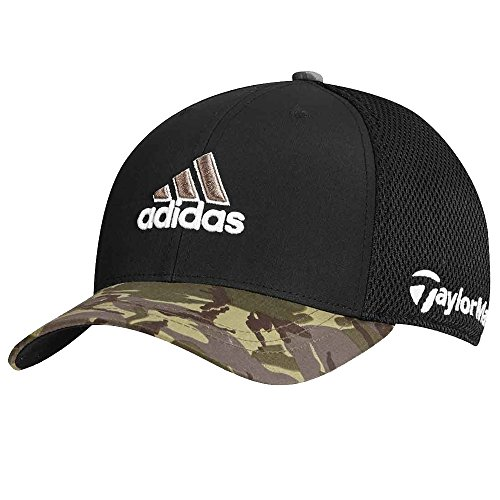 adidas Tour Tour Mesh Camouflage Fitted Golf Hat, Large/X-Large