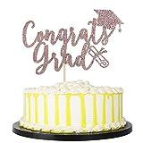 PALASASA Congrats Grad Cake Topper - Graduation Cake Topper Grad Party...
