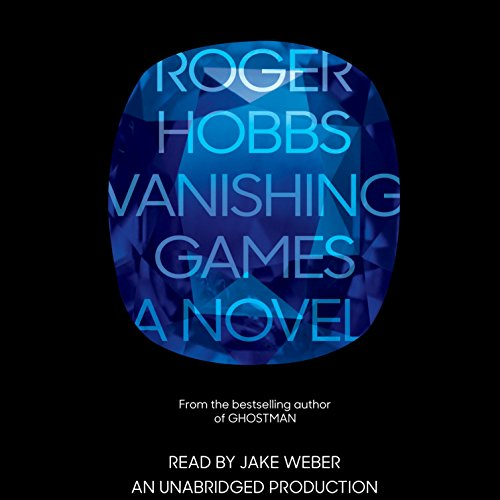 Vanishing Games audiobook cover art