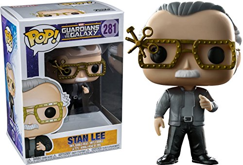 Funko POP! Guardianes de la Galaxia: Stan Lee Exclusivo