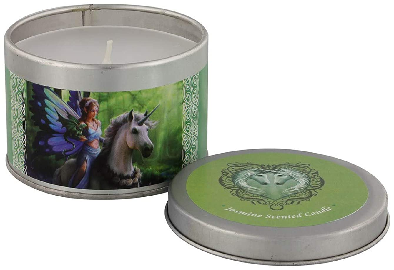 エゴマニアごめんなさい普遍的なRealm Of Enchantment Candle By Anne Stokes