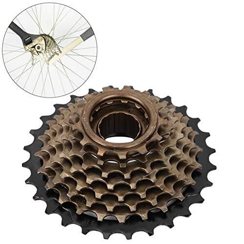 SALUTUYA - Bicicleta de ciclismo - Accesorio de repuesto - Cassette piñón - Rueda libre - 8 velocidades - Para bicicleta de carretera de montaña - Para ciclismo