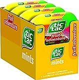 Tic Tac Fresh Breath Mints, Fruit Adventure, Bulk Hard Candy Mints, 3.4 oz Bottle Packs, 8 Count, Perfect Easter Basket Stuffers for Boys and Girls