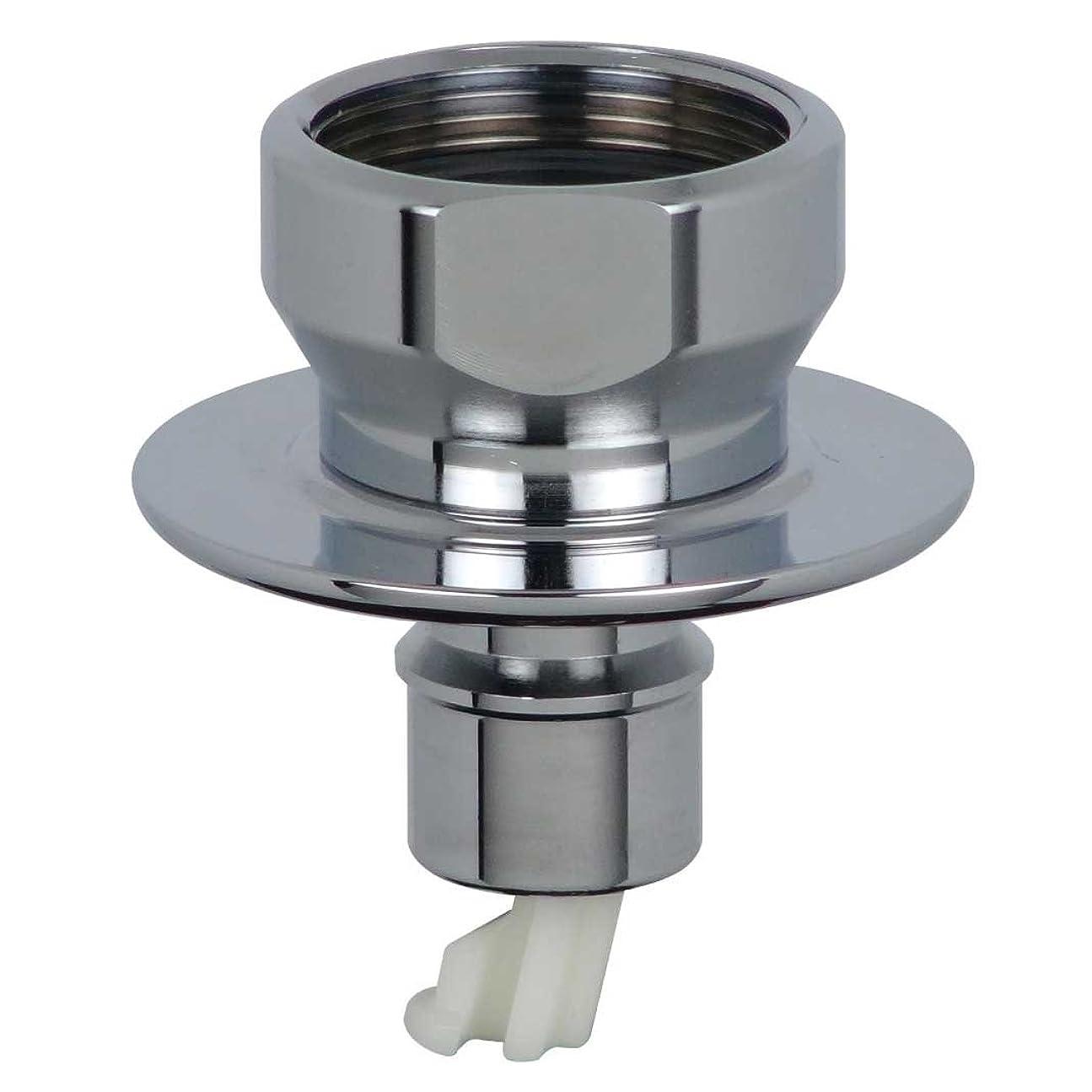 極地耐える削るカクダイ 洗濯機用 取替簡単ニップル 呼13 自在水栓 対応 給水ホースをワンタッチ接続 水漏れ防止ストッパー付き 金属製 772-004