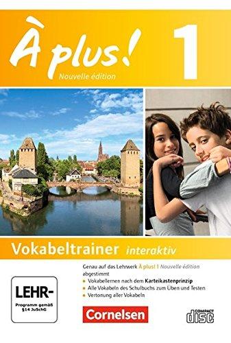 À plus ! - Nouvelle édition: Vokabeltrainer auf CD-ROM - Band 1