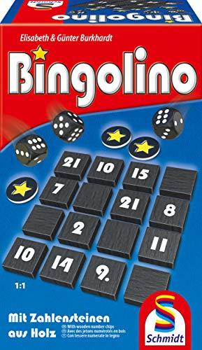 Schmidt Spiele 49347 Bingolino, Lege-und Würfelspiel, bunt