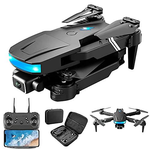HAOJON WiFi FPV Drone con cámara 4K 10 Minutos de Tiempo de Vuelo Drone Plegable Adecuado para Principiantes Modo de retención de Altura RTF Despegue/Aterrizaje con una tecla 3D Flip Adecuado par