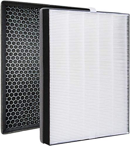 FY2420/30 FY2422/30 Filtros de Repuesto Compatible con Phi-lips 2000 2000i Series Purificador de Aire, Filtro HEPA con Filtro de Carbón Activado Reemplaza al Filtro AC2887 AC2889 AC2882 AC3829