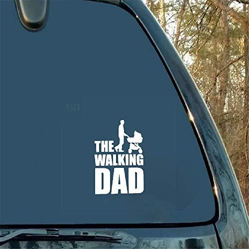Autocollant de voiture 9.9Cmx15Cm Le Sticker Fun Funny Dad Baby Sticker Bébé à bord pour la fenêtre d'ordinateur portable de voiture