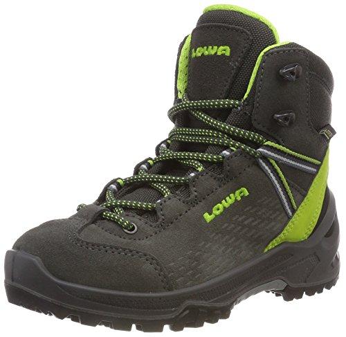 Lowa Unisex-Kinder Arco GTX Mid Ju Trekking-& Wanderstiefel, Grau (Navy/hellblau 9702), 32 EU