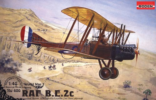 Roden Royal Air Force BE2C 飛行機モデルキット