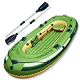 Bestway 65001 - Barca Hinchable con Remos Voyager 500 Para 3 Personas