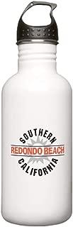 CafePress Redondo Beach California Stainless Water Bottle 1. Stainless Steel Water Bottle, 1.0L Sports Bottle