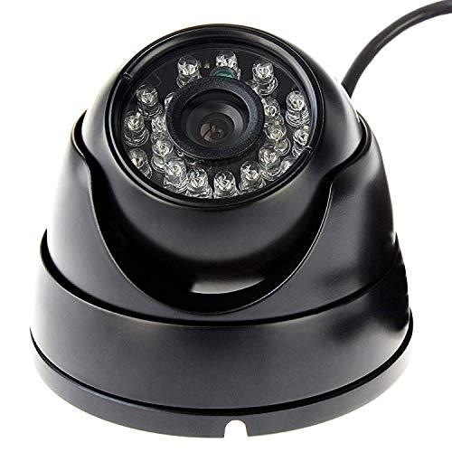 Cámara Web de 1080p, 2 megapíxeles,USB,visión Nocturna,para Interior y Exterior,Alta fotograma,100 fps,cámara OTG,a Prueba de vandálicos,con LED IR de 24 Piezas para vigilabebés,Monitor de Mascotas