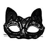 KEFAN Máscara de Mascarada Disfraz de Fiesta Carnaval de Halloween Máscara de Ojo de Gato Sexy