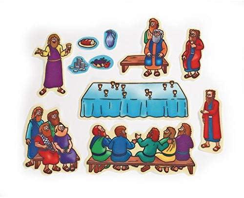 Ranking TOP9 Little Folk Visuals Beginners Bible: Supper Last Ultra-Cheap Deals Flannel Precut