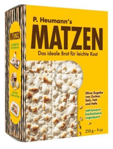Mestemacher Matzen Brot, 8er Pack (8 x 250 g Packung)